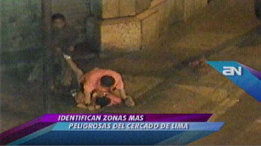 VIDEO: las calles más peligrosas del Centro de Lima