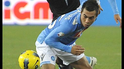 """DT del Napoli sobre flojo debut del chileno Vargas: """"Me equivoqué"""""""