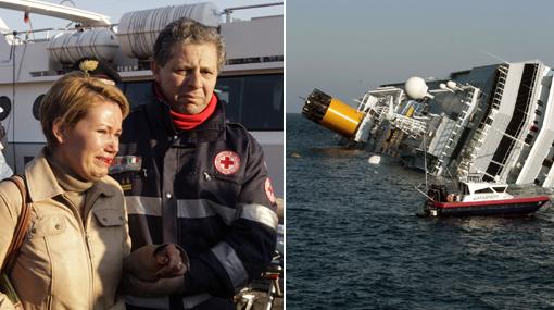 """Accidente del Costa Concordia en Italia: """"¿Vieron el 'Titanic'? Así fue"""""""