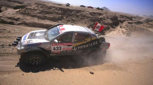 Rumbo a Lima: autos peruanos también completaron la etapa de hoy del Dakar