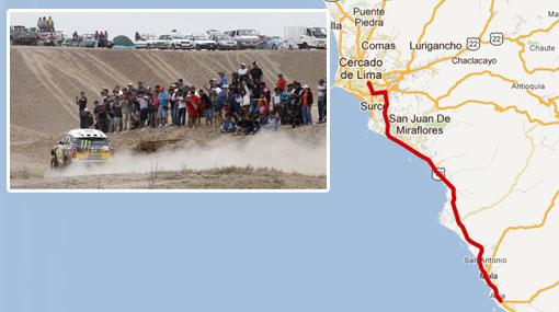 MAPA: ¿Quieres ver el Dakar? Esta es su ruta en Lima