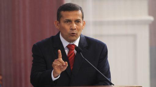 Ollanta Humala comienza el 2012 con un aumento en su aprobación