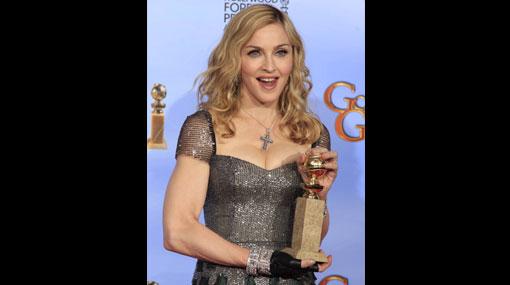 Madonna se llevó su segundo Globo de Oro por Mejor canción original
