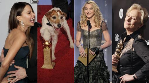 Premio a lo loco: los momentos más extravagantes de los Globos de Oro