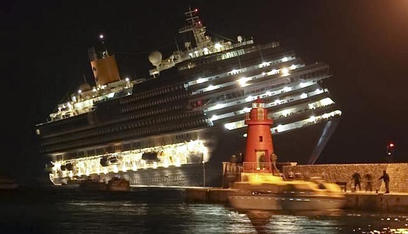 Video del naufragio del Costa Concordia fue recuperado