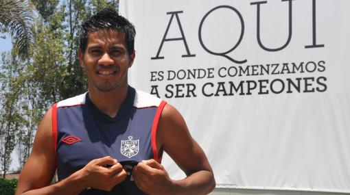 Volvió a casa: Ronald Quinteros inició entrenamientos con la San Martín