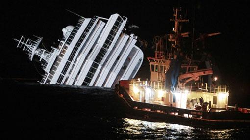 Gobierno italiano declarará estado de emergencia por crucero encallado