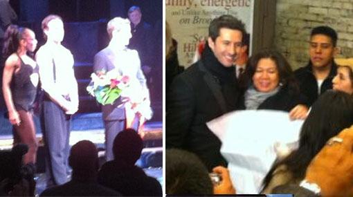 Marco Zunino debutó con éxito en Broadway