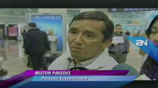 Familia peruana que iba en el Costa Concordia contó cómo se salvó