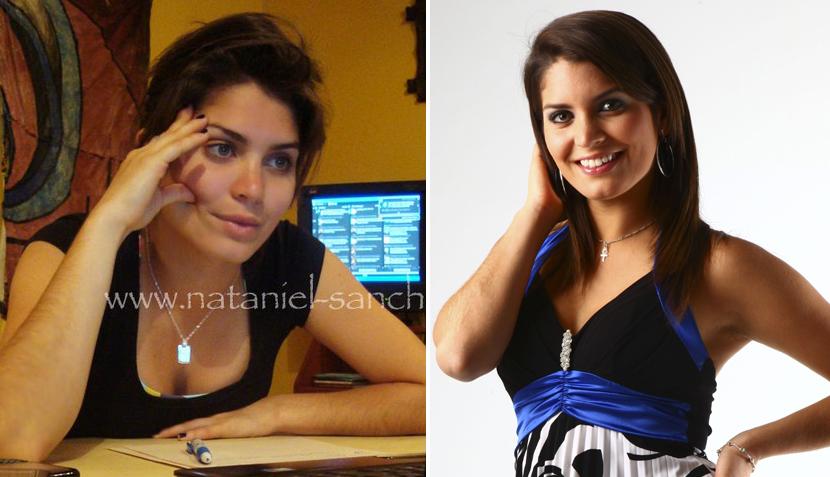 Los poderes del cosmético: así lucen nuestras famosas sin maquillaje