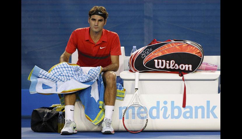 Federer ganó sin jugar y colombiano dio la sorpresa en el Open de Australia