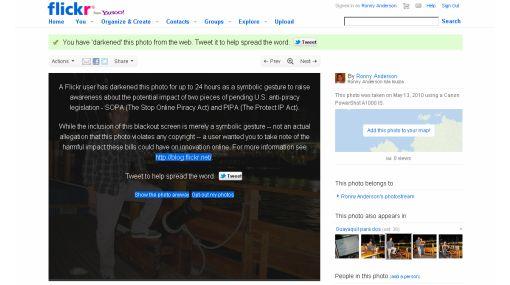 Más de 10.000 páginas web se sumaron a protesta contra SOPA y PIPA