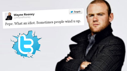 "Wayne Rooney llamó ""idiota"" a Pepe por pisarle la mano a Messi"