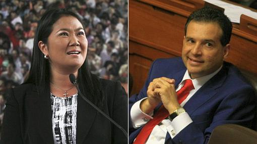 "Keiko Fujimori criticó blindaje a Chehade: ""El Gobierno agachó la cabeza ante él"""