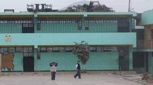 Cuatro menores entraron a robar a su propio colegio en Huaral
