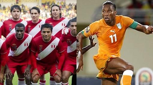 Costa de Marfil de Drogba podría ser el rival de Perú este 29 de febrero