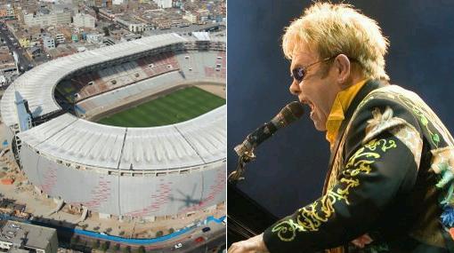 Concierto Elton John: 85% de observaciones al Estadio Nacional fueron subsanadas