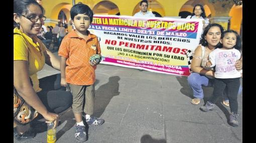 Solo entrarán a inicial niños con 3 años cumplidos al 31 de marzo