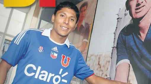 Ruidíaz disputará con cinco jugadores la titularidad en la U. de Chile
