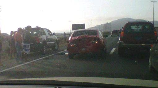 Choques en km 72 de Panamericana Sur complican el regreso a Lima