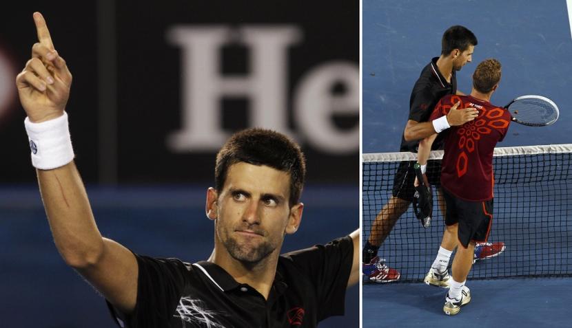 Abierto de Australia: Sharapova continúa imparable y Djokovic apretó el acelerador para derrotar a Hewitt