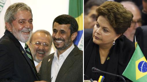 Ahmadineyad extraña a Lula y no quiere a Dilma