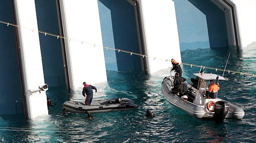 Hallan dos cadáveres de mujeres en el Costa Concordia y ya suman 15 muertos