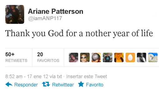 """Muchacha murió en día de su cumpleaños luego de tuitear: """"Gracias Dios por otro año de vida"""""""