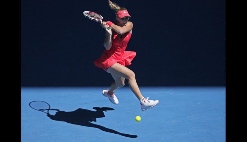 Las mejores imágenes de los cuartos de final del Abierto de Australia