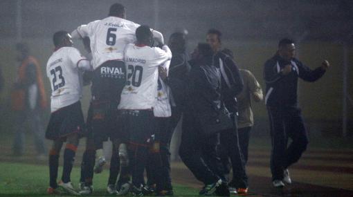 El Nacional venció a Libertad y dio un pasito para entrar al grupo de Alianza Lima