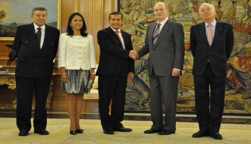 FOTOS: Ollanta Humala se reunió con el rey Juan Carlos en España