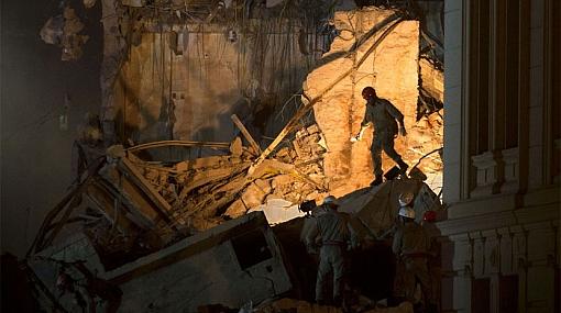 Tres muertos y 16 desaparecidos dejó triple derrumbe en Brasil