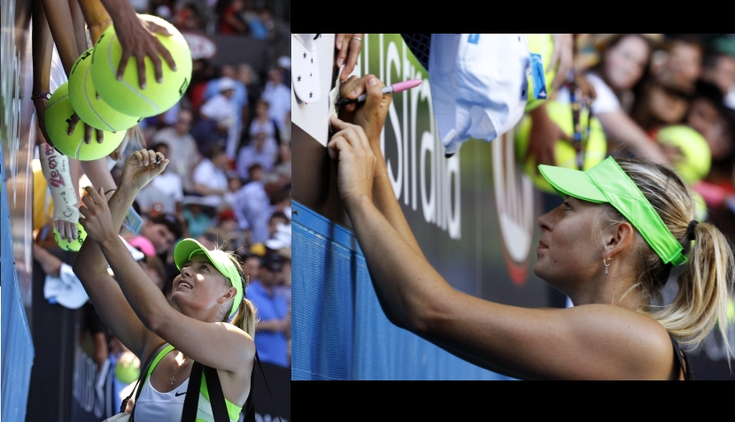 La euforia de Sharapova y las lágrimas de Azarenka, las finalistas del Abierto de Australia
