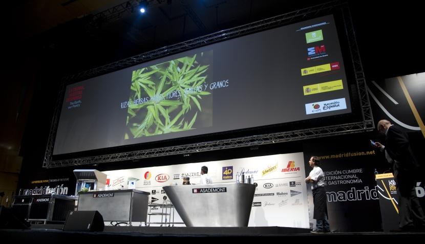 La presentación de Pedro Miguel Schiaffino en Madrid Fusión