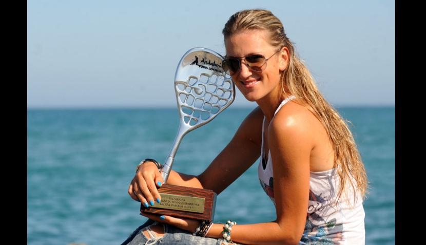 Victoria Azarenka, la tenista bielorrusa que está a un paso de ser la número uno del mundo