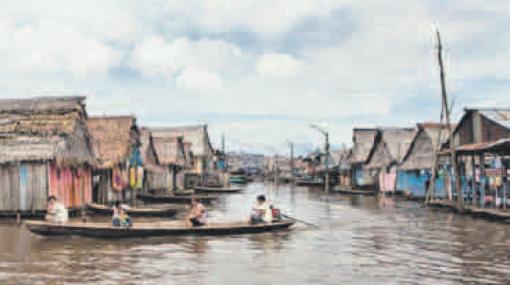 Inundación en Iquitos pone en riesgo a 53 mil personas