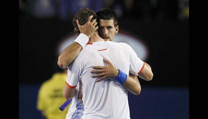 FOTOS: la angustiante clasificación de Novak Djokovic a la final del Abierto de Australia