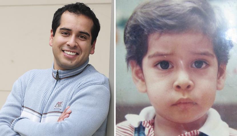 Famosos compartieron fotografías de su infancia en las redes sociales