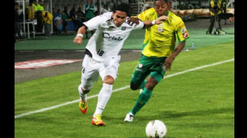 Jean Tragodara debutó como titular en el Once Caldas con un empate