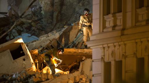 Derrumbe en Río de Janeiro: número de muertos subió de 15 a 17