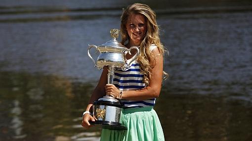 Es oficial: Victoria Azarenka es la nueva número uno del tenis mundial