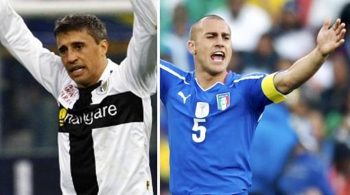 Crespo y Cannavaro fueron 'subastados' para jugar en la Liga Premier India