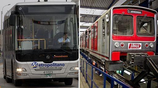Línea 2 del tren eléctrico y Metropolitano 2 tendrán casi misma ruta