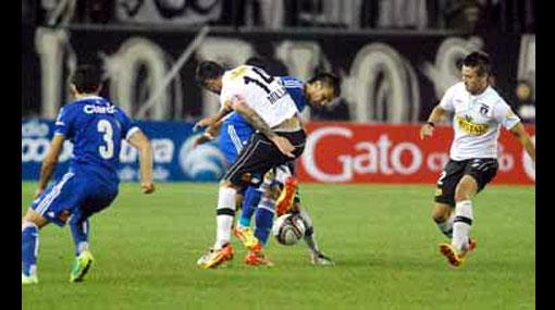 U. de Chile perdió con Colo Colo y Raúl Ruidíaz jugó dos minutos