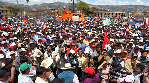 Protestas contra Conga: Arana dice que Marcha del Agua será pacífica