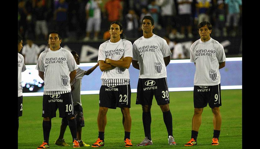 Las mejores imágenes de la presentación de Alianza Lima en la Noche blanquiazul