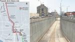 Aquí se unirían en el futuro el Metropolitano y el tren eléctrico - Noticias de luis fernando plasencia