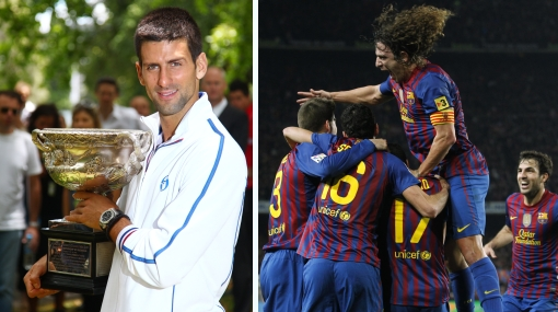Djokovic y el club Barcelona ganaron los premios Laureus