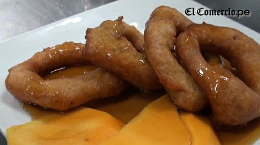 VIDEO: aprende a preparar unos picarones de mango