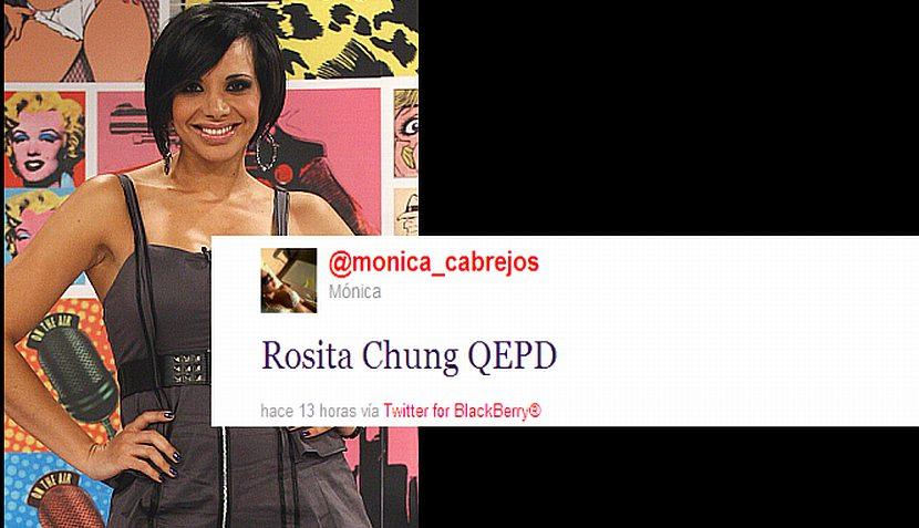 Farándula local lamenta la muerte de Rosita Chung